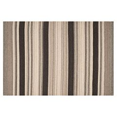 Safavieh Dhurries Stripe Handwoven Flatweave Wool Rug