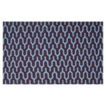 Safavieh Dhurries Wishbone Handwoven Flatweave Wool Rug