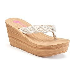 Unleashed by Rocket Dog Denelle Women's Platform Wedge Sandals