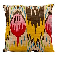 Mina Victory Lifestyles Multi Ikat Throw Pillow