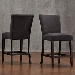 HomeVance Leona Counter Stool 2 pc Set