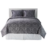 Grand Collection Floral Damask 300 Thread Count Duvet Cover Set