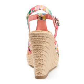 Unleashed by Rocket Dog Georgia Women's Espadrille Wedge Sandals