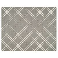 Safavieh Dhurries Crossnet Handwoven Flatweave Wool Rug