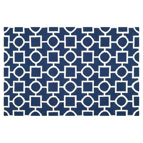 Safavieh Dhurries Shapes Handwoven Flatweave Wool Rug