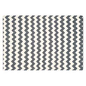 Safavieh Dhurries Chevron Handwoven Flatweave Wool Rug