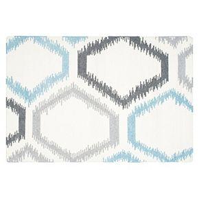 Safavieh Dhurries Honeycomb Handwoven Flatweave Wool Rug