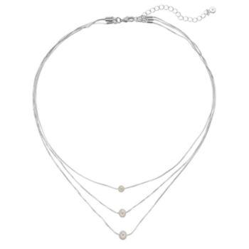 LC Lauren Conrad Multi Strand Necklace