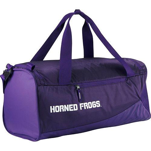 Nike TCU Horned Frogs Vapor Duffel Bag