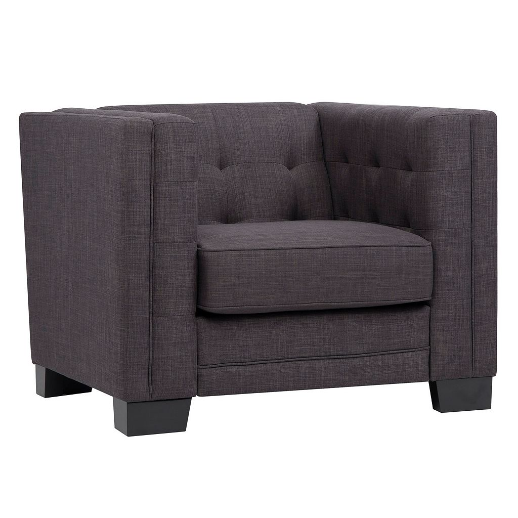 HomeVance Ladera Tufted Arm Chair