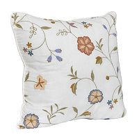 Always Home Alice Square Throw Pillow