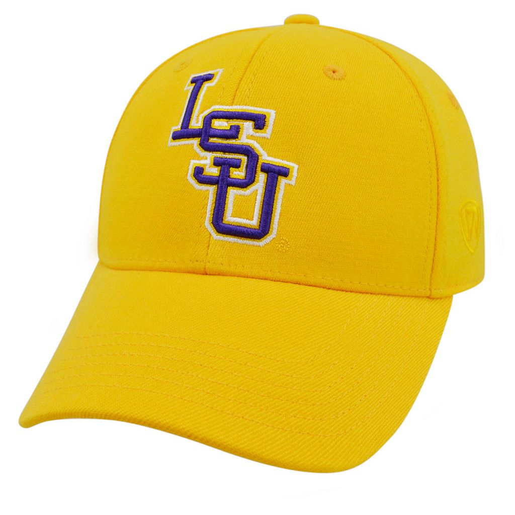 Adult Top of the World LSU Tigers Premium Collection One-Fit Cap