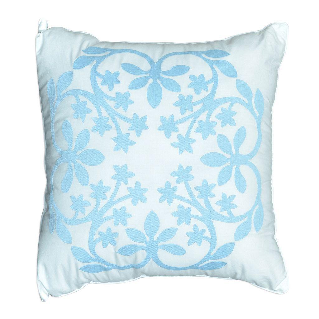 Always Home Kayla Square Throw Pillow