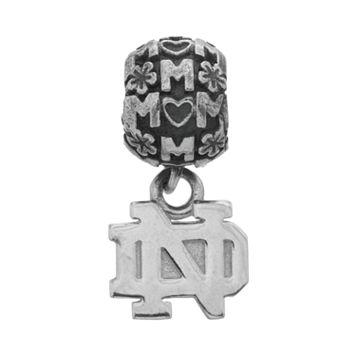 Dayna U Sterling Silver Notre Dame Fighting Irish Team Logo