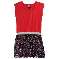 Girls 4-6x French Toast Glitter Waistband Dress