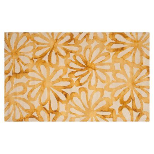 Safavieh Baez Floral Dip-Dyed Wool Rug