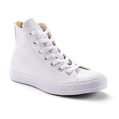 Adult Converse Chuck Taylor All Star Monochromatic Leather High-Top Sneakers by