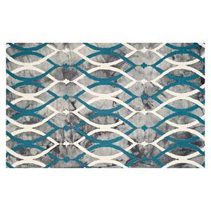 Safavieh Haven Geometric Dip-Dyed Wool Rug