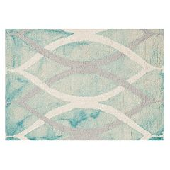 Safavieh Haven Geometric Dip-Dyed Wool Rug