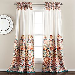 Lush Decor 2-pack Clara Window Curtains