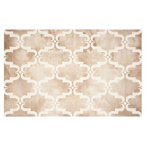 Safavieh Sebastian Scroll Dip-Dyed Wool Rug