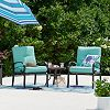 SONOMA outdoors 3-pc Claremont Side Table & Chair Deals