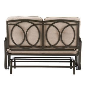 Sonoma Goods For Life Claremont Patio Loveseat Glider Null