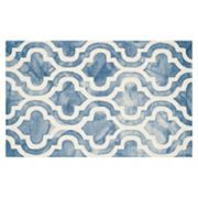 Safavieh Guthrie Quatrefoil Dip-Dyed Wool Rug