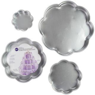 Wilton 4-pc. Flower Petal Tiered Cake Pan Set