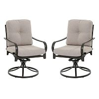 SONOMA Goods for Life™ Claremont Swivel Patio Chair 2 pc Set