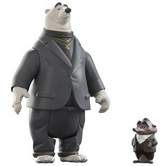 Disney's Zootopia Mr. Big & Kevin Character Figure Set by Tomy
