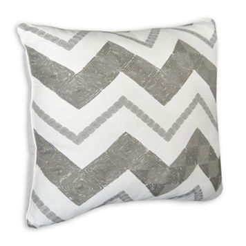 Always Home Cody Zig Zag Square Throw Pillow