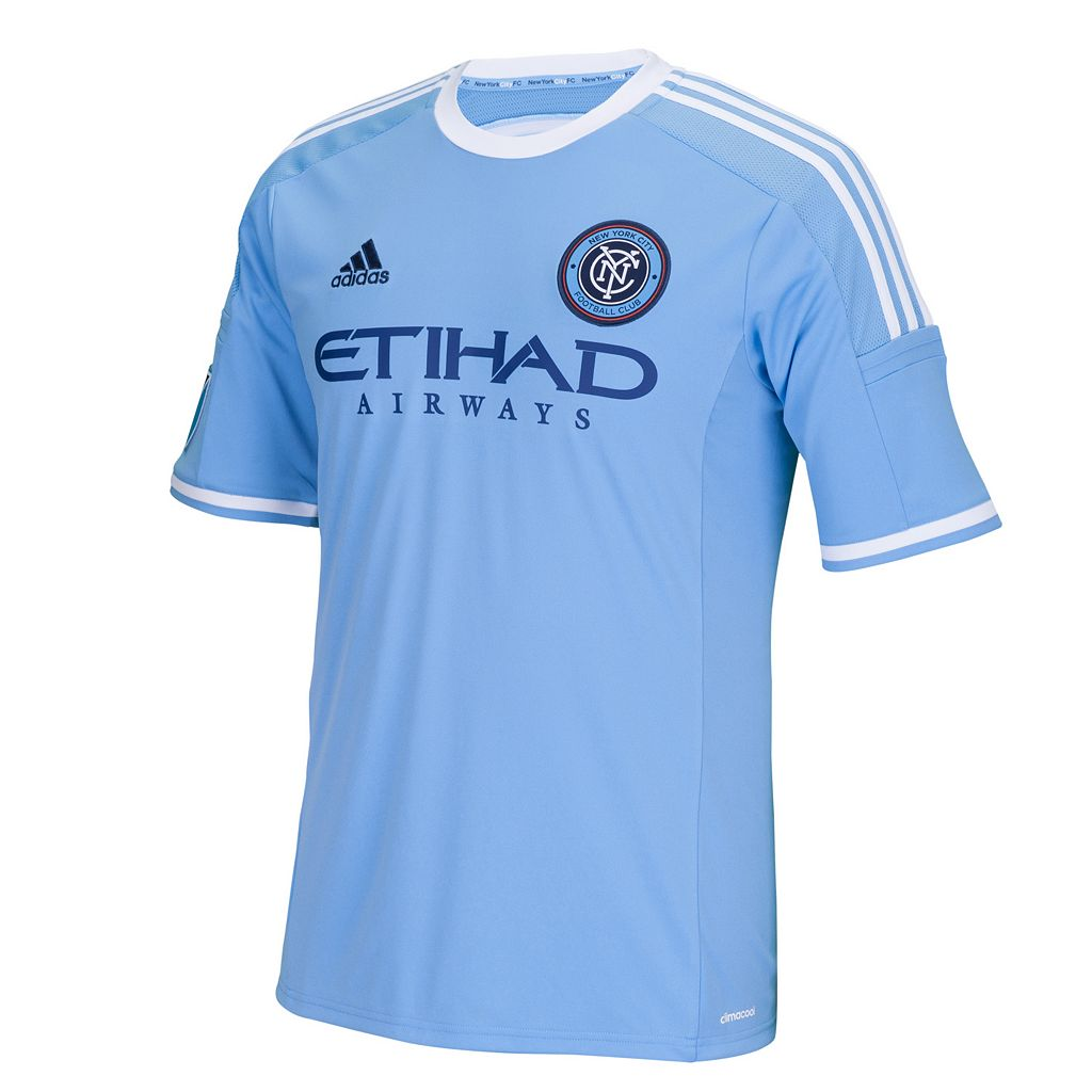 Men's adidas New York City FC David Villa Wordmark MLS Jersey