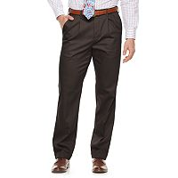 Men's Croft & Barrow® Classic-Fit Pleated No-Iron Stretch Pants
