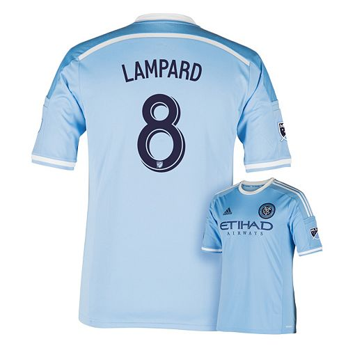 the latest c574d 2acea Men's adidas New York City FC Frank Lampard Jersey