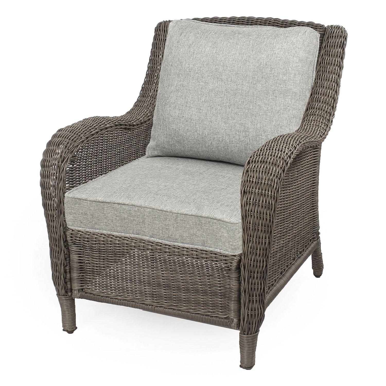 SONOMA Goods For Life™ Presidio Wicker Chair. Brown Gray