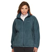 Plus Size Columbia Three Lakes Fleece Jacket