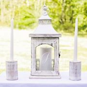 Cathy's Concepts 3 pc Monogram Lantern & Candle Holder Set