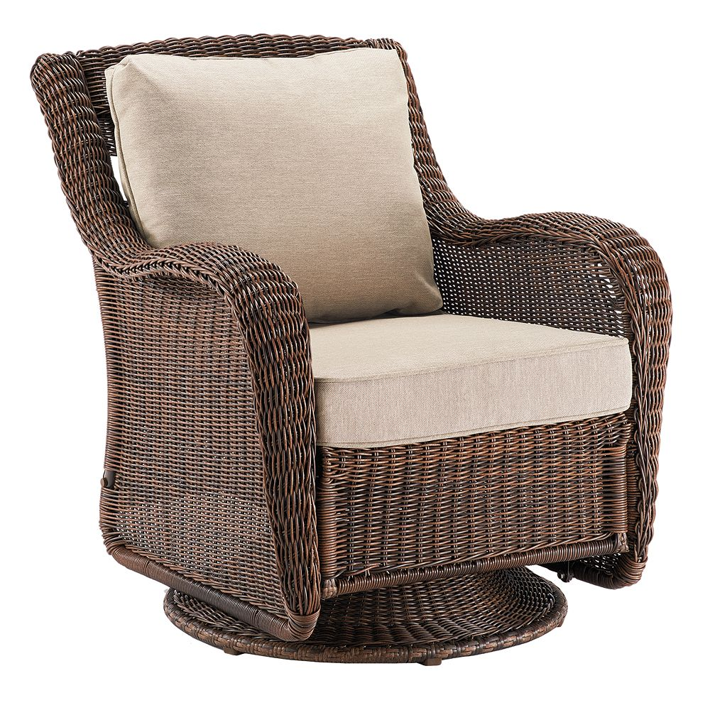 SONOMA Goods for Life™ Presidio Wicker Swivel Rocking Chair - Goods For Life™ Presidio Wicker Swivel Rocking Chair