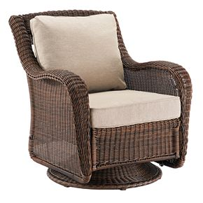 SONOMA Goods for Life? Presidio Wicker Swivel Rocking Chair