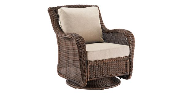 Sonoma Goods For Life Presidio Wicker Swivel Rocking Chair