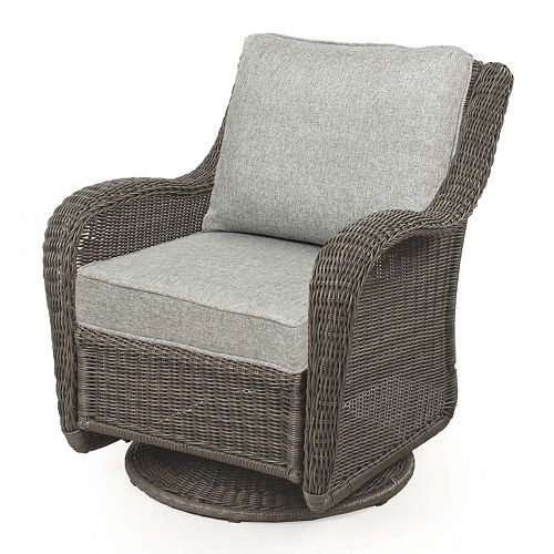Cool Sonoma Goods For Life Presidio Wicker Swivel Rocking Chair Cjindustries Chair Design For Home Cjindustriesco