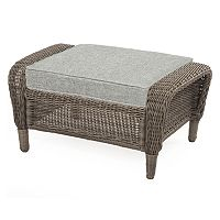 SONOMA Goods for Life™ Presidio Patio Wicker Ottoman