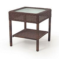 SONOMA Goods for Life™ Presidio Patio Wicker End Table