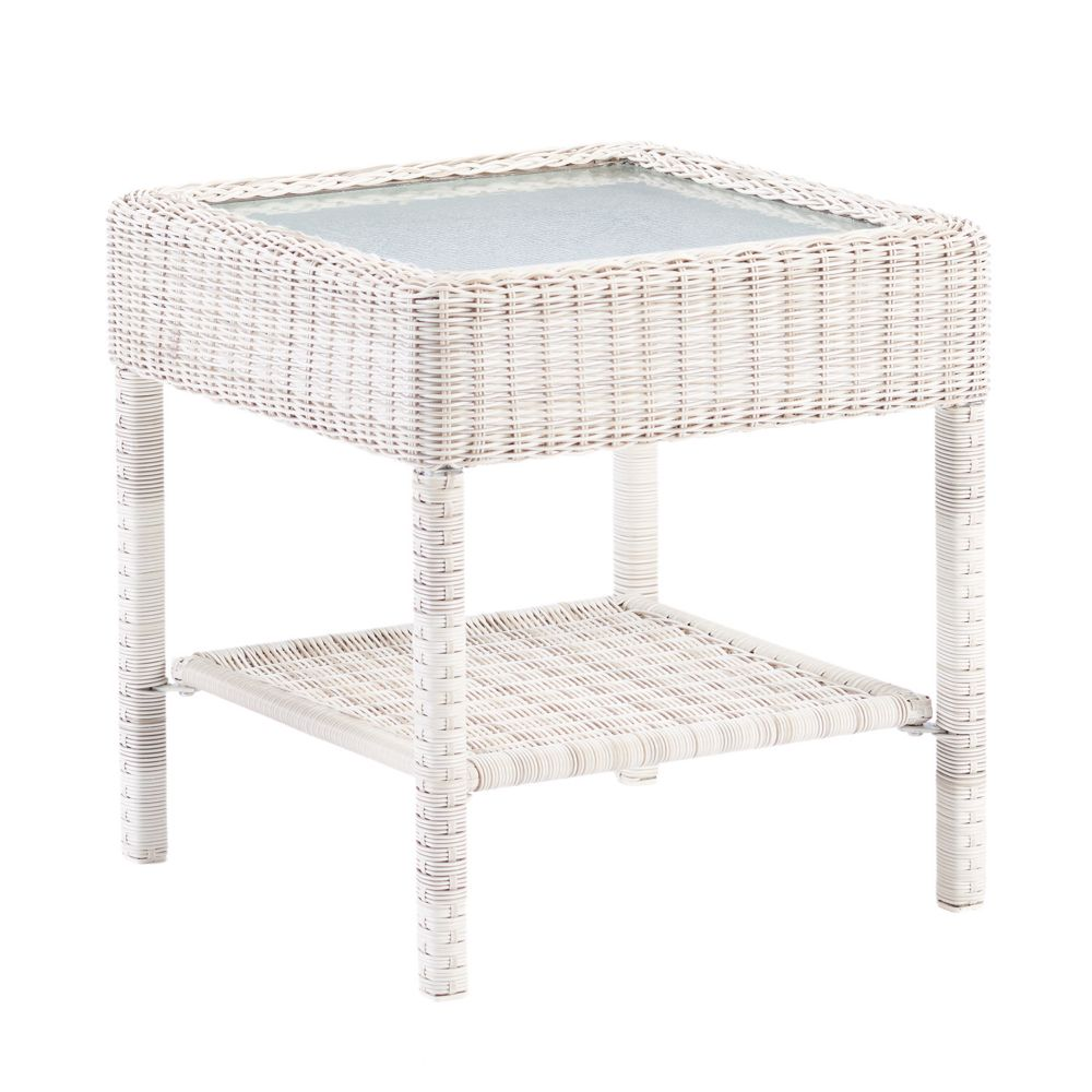 goods for life presidio patio wicker end table