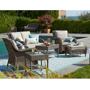 SONOMA Goods for Life? Presidio Patio Wicker Coffee Table