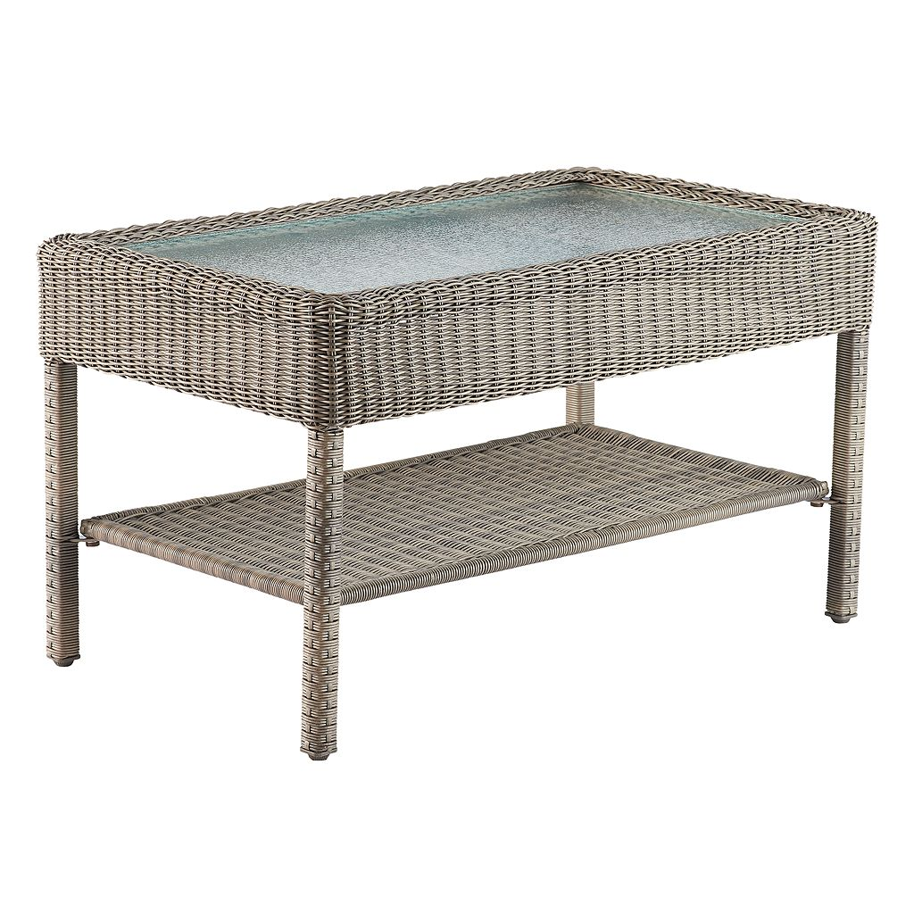 SONOMA Goods for Life™ Presidio Patio Wicker Coffee Table