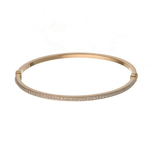 14k Gold Diamond Fascination Bangle Bracelet   7 In. by Kohl's
