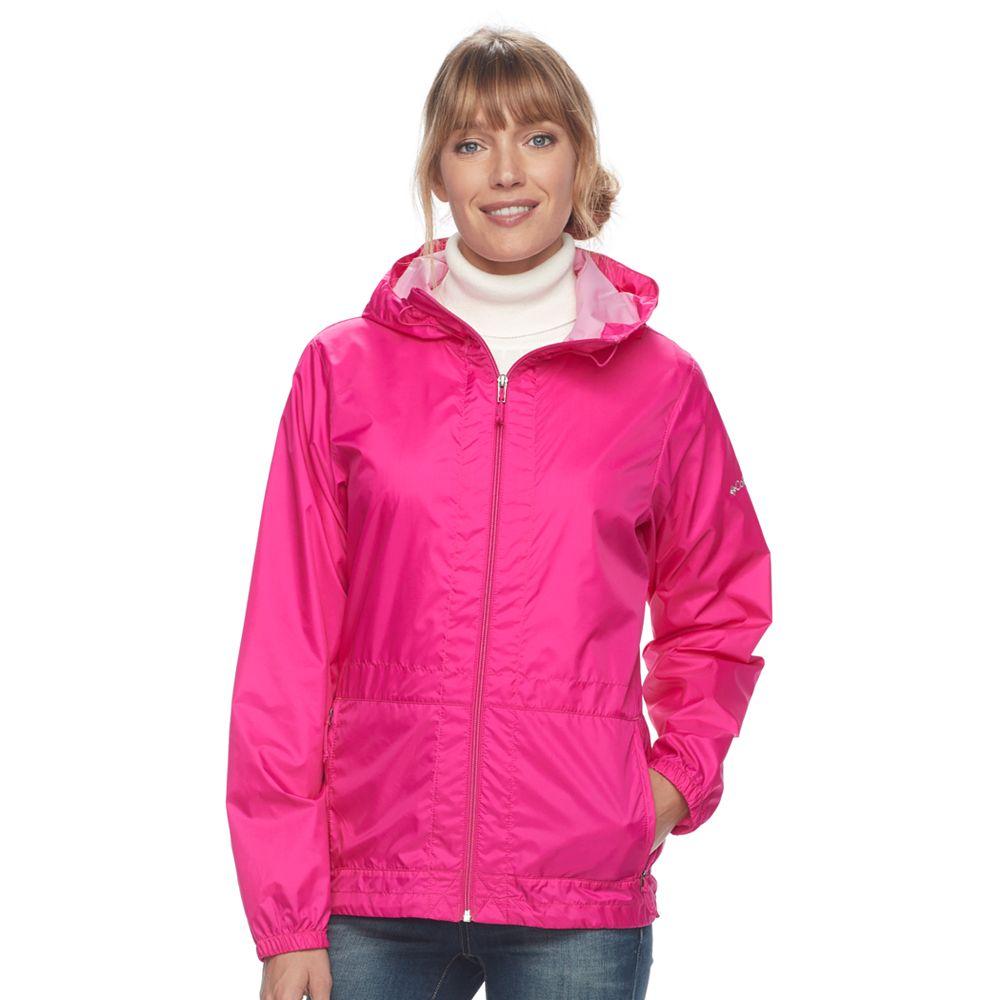 Columbia Rain to Fame Hooded Rain Jacket