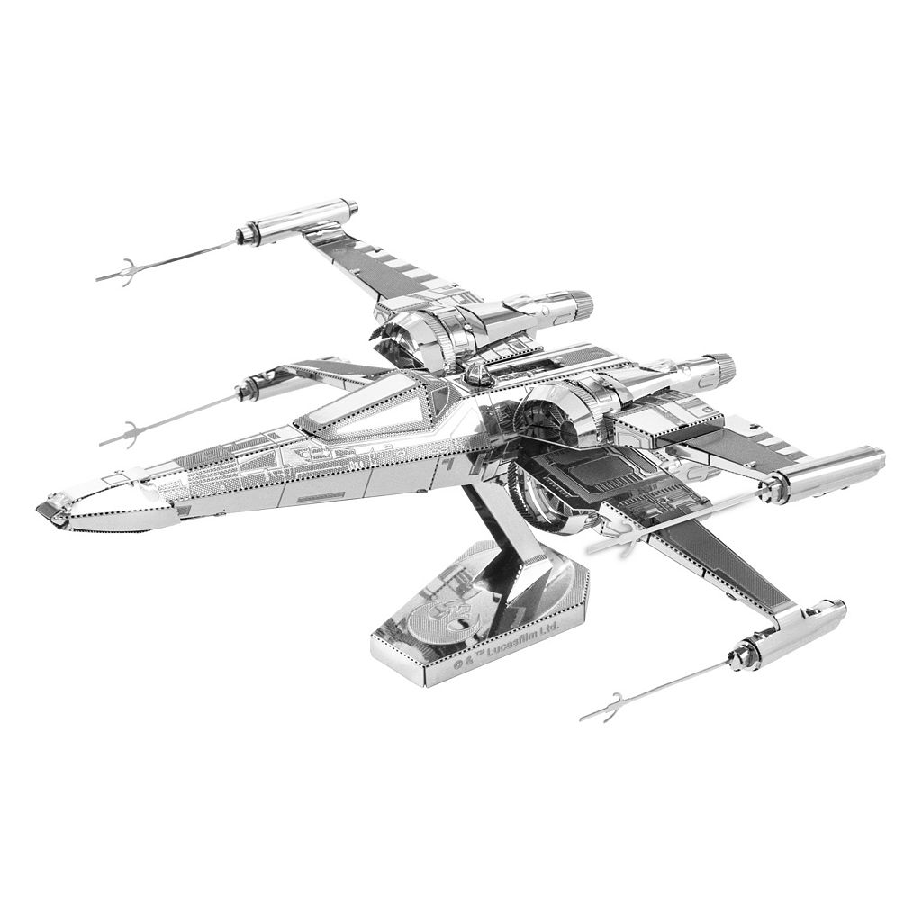 Metal Earth 3D Laser Cut Model Star Wars: Episode VII The Force Awakens Poe Dameron's X-Wing Fighter by Fascinations